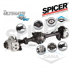 Rear Dana 60 Axle Assembly