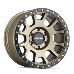 Mayhem Scout Matte Gold Wheel 17x8.5 5x5 ET 0