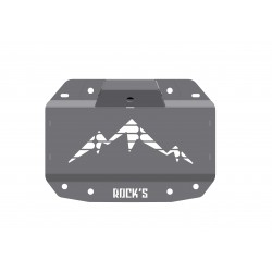 Tailgate Plate with Rear Camera & Third Brake Light Mount