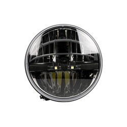 Truck-Lite 7in Round LED Headlights - E-Mark