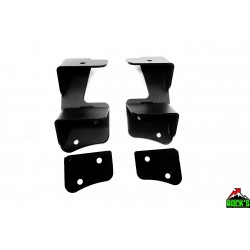 Dual A-Pillar Light Mount Kit