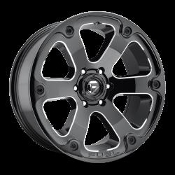 Cerchio Fuel BEAST 17x9 5x5 ET -12