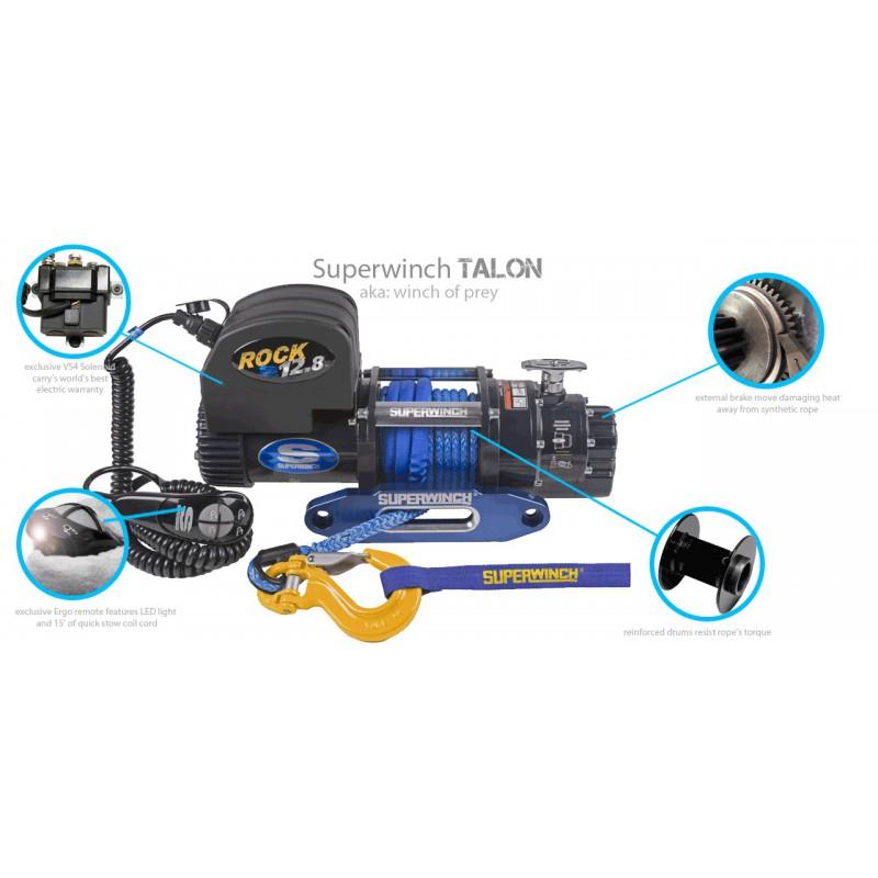 Superwinch Winch Talon 12500 SR 12V - Rocks 4x4