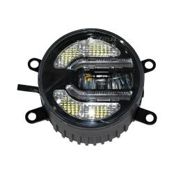 """Fog Light Kit w/DRL 3.5"""" - E Mark"""